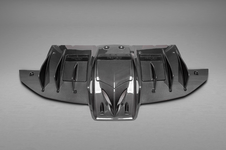 Capristo Carbon Diffusor Ferrari 458 Speciale