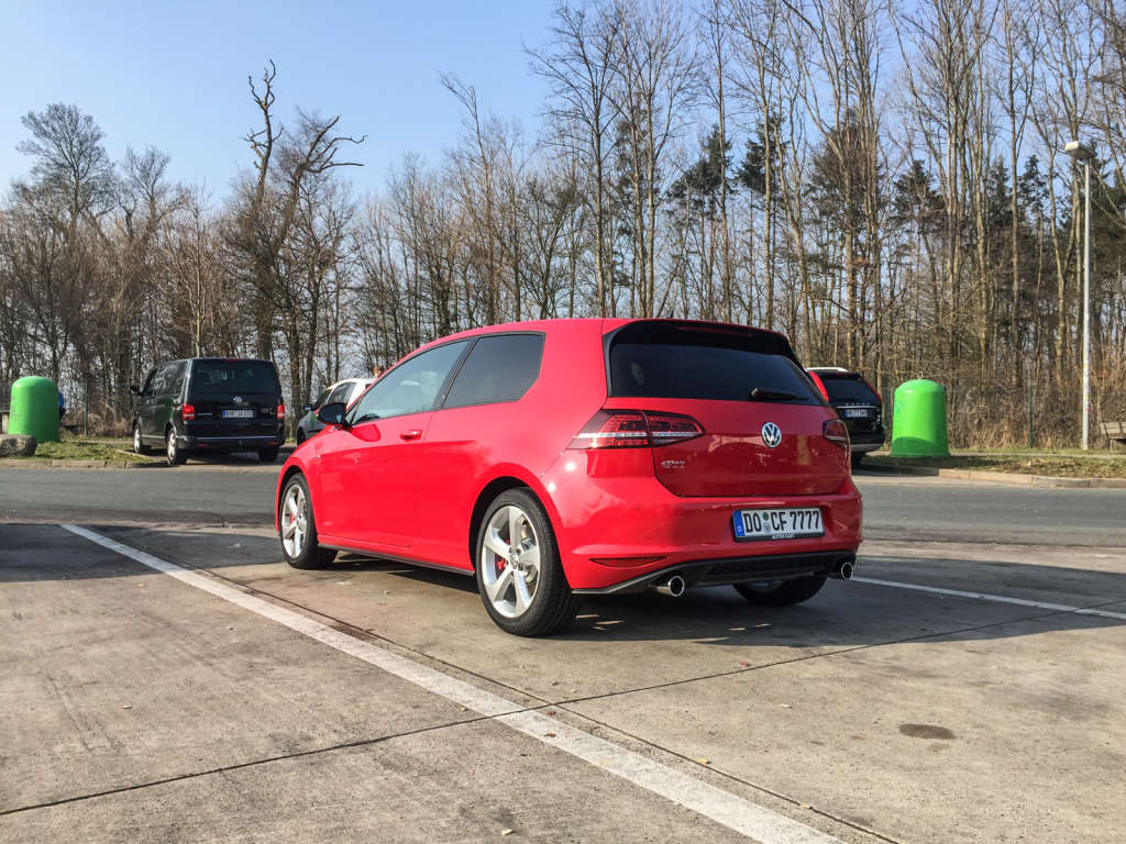 Heimfahrt Golf 7 GTI