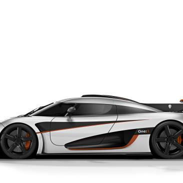 Koenigsegg One:1 Carbon Felgen