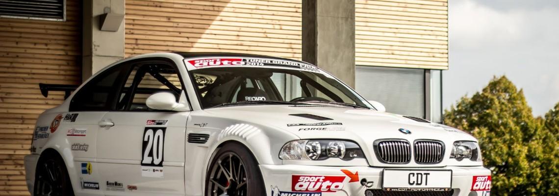 BMW E46 CSL Komplettumbau