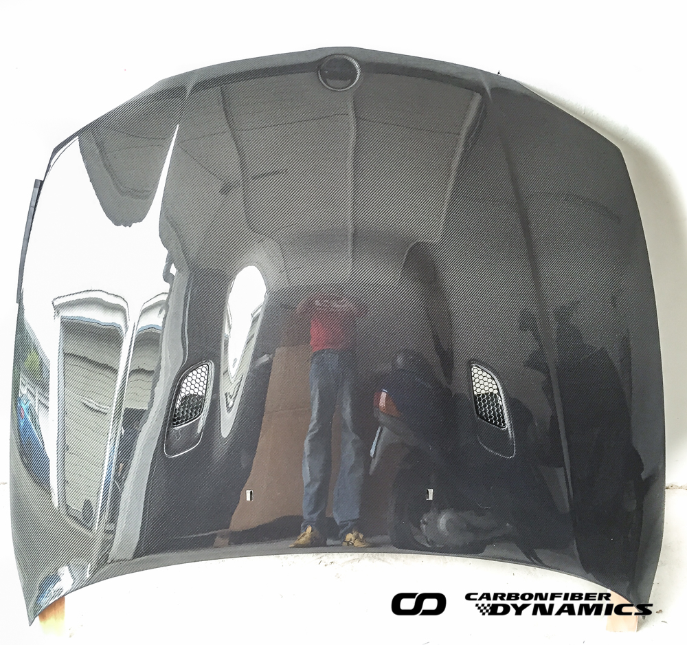 Boca Carbon Kevlar Motorhaube BMW E82 1M_1