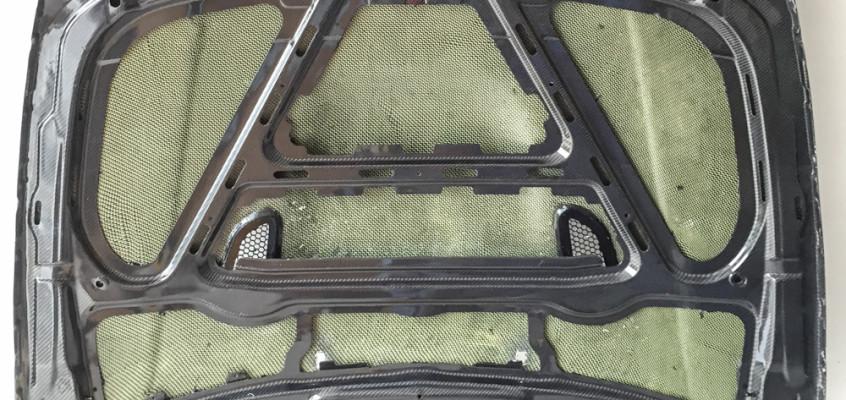 BMW E82 1M Carbon Kevlar Motorhaube