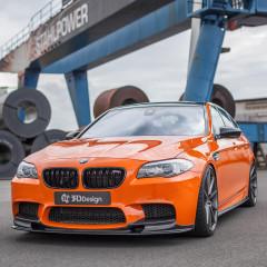 3DDesign BMW F10 M5 Carbon Paket (Frontlippe, Seitenschweller, Diffusor, Spoiler)_1