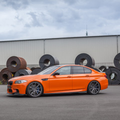 3DDesign BMW F10 M5 Carbon Paket (Frontlippe, Seitenschweller, Diffusor, Spoiler)_4