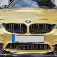 Eventuri Carbon Kevlar Ansaugsystem für BMW F82 M4 gelb_2