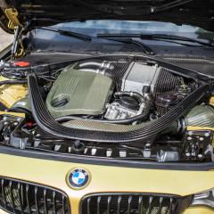Eventuri Carbon Kevlar Ansaugsystem für BMW M4 gelb_3