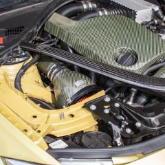 Eventuri Carbon Kevlar Ansaugsystem für BMW M4 gelb_4