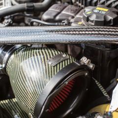 Eventuri Carbon Kevlar Ansaugsystem für BMW M4 gelb_5