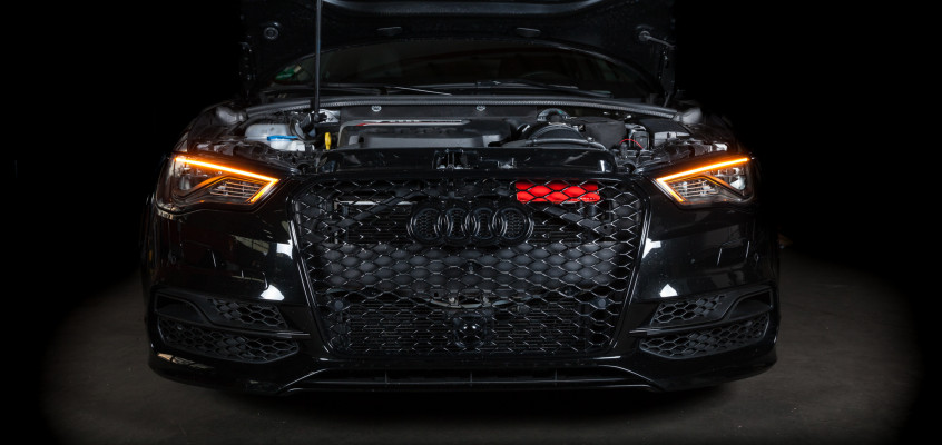 Audi S3 8V mit Eventuri Ansaugsystem