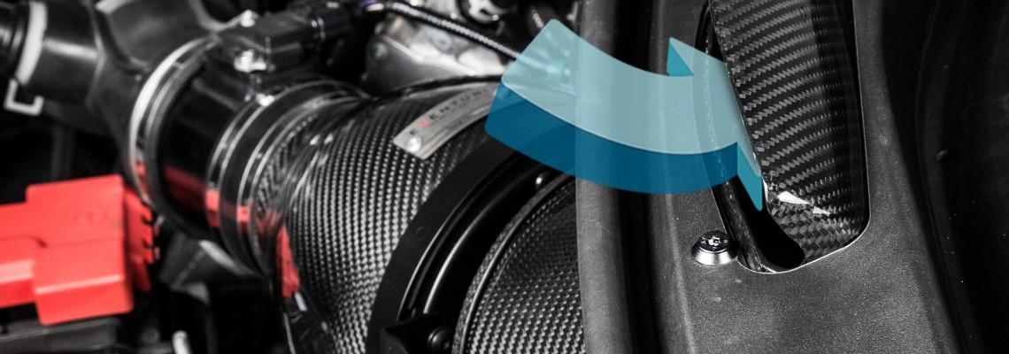 Eventuri Ansaugsystem Honda Civic Type R FK2