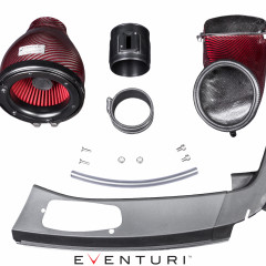 Eventuri Carbon Kevlar Rot Ansaugsystem für Honda Civic Type R FK2_1