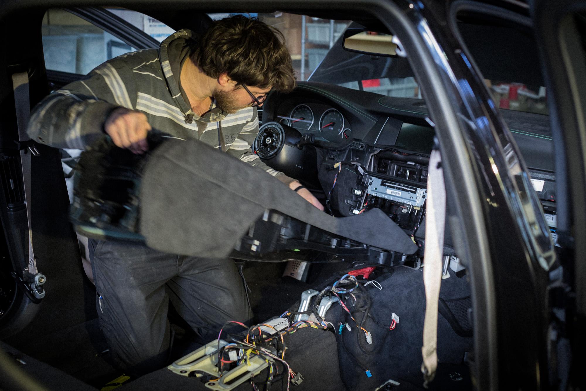 Projekt BMW M5R Touring – el Niño – Part IV - Carbonfiber Dynamics Blog